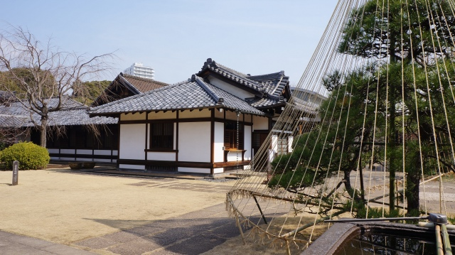 The well-kept grounds of Tenno-ji Temple