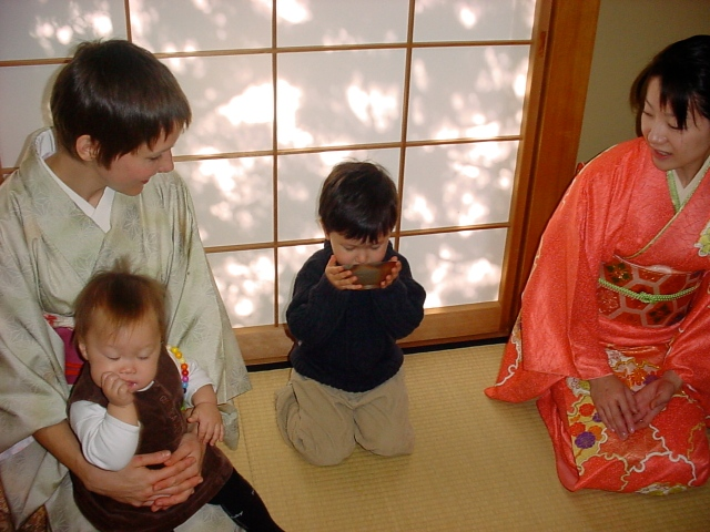 Tea ceremony, 2002